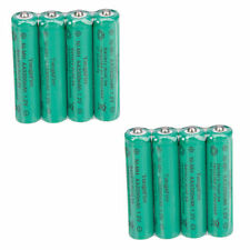 NEW 8 Pcs TangsFire AA Rechargeable Ni-MH Durable Battery 1.2V Green us