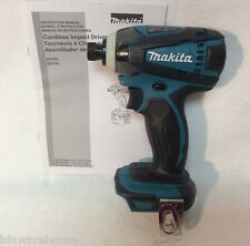 Makita XDT04 NEW 18V 18 Volt Lithium Ion Cordless Impact Driver Former LXDT04