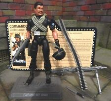 GI JOE ~ 2009 SGT SHIMIK ~ COMMANDO TEAM CONVENTION FIGURE ~ 100% & file card