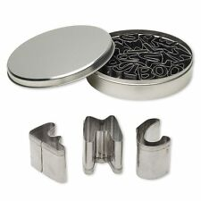 """Set of 26 Stainless Steel 1"""" Capital Alphabet Letter Clay Cutters for Cut Outs"""