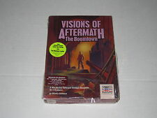 Visions of Aftermath: The Boomtown (PC, IBM, Taqndy, 1988, DOS) Rare Mindscape