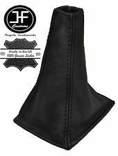 BLACK STITCHING REAL LEATHER MANUAL GEAR GAITER FITS PRIMERA P11 1996-2001
