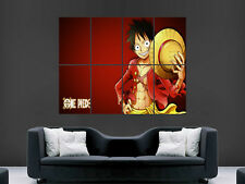 ONE PIECE LUFFY  MANGA ART IMAGE HUGE LARGE WALL ART POSTER PICTURE ""