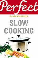 Perfect Slow Cooking (Perfect (Random House)),Brown, Elizabeth,New Book mon00000