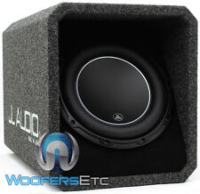 "JL AUDIO HO110-W6V3 10"" SUB 2-OHM LOADED SUBWOOFER ENCLOSURE BASS SPEAKER NEW"