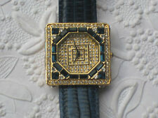 Couture Collection By Adrienne Limited Edition Rhinestone Ornate Watch