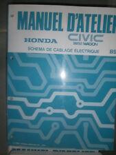 Honda CIVIC Shuttle Wagon 1989 : schémas électriques