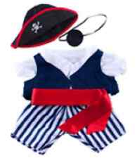 "Pirate Outfit 16""(40cm) by Teddy Mountain will fit Build a Bear"
