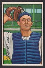 1952 Bowman #216 Matthew Matt Batts Detroit Tigers baseball card