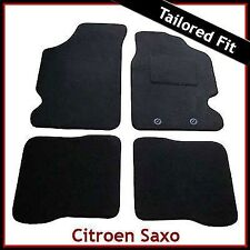 Citroen Saxo 1996 - 2001 2002 2003 2004 Tailored Fitted Carpet Car Mats BLACK