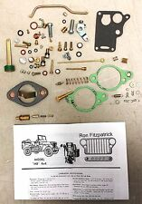 Jeep WW2 Willys MB, Ford GPW, 647745K Carburetor Master Rebuild Kit Carter WO