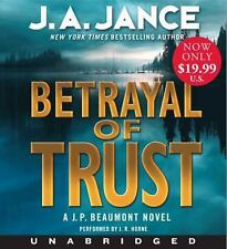 Betrayal of Trust Low Price CD: A J. P. Beaumont Novel Jance, J. A. Books-Good C
