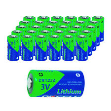30X New CR123A CR123 CR 123A 123 Lithium Photo Flashligh Light Battery Exp. 2027