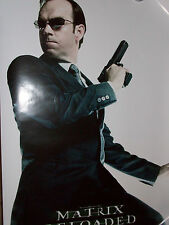 THE MATRIX RELOADED AGENT SMITH POSTER NEW HUGO WEAVING(TRINITY MORPHEUS123BUST