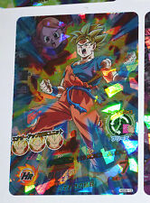 DRAGON BALL Z DBZ HEROES GOD MISSION PART 6 CARD PRISM CARTE HGD6-13 SUPER RARE