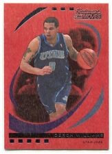 2006-07 Topps Trademark Moves Wood Red 63 Deron Williams 26/35