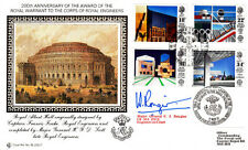 RE 200/1b Royal Engineers Full set of 4 British Architects in Europe Stamps.