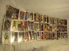 Basketball card lot mixed 20+ folder NBA Upper Deck Skybox Fleer cards collect $