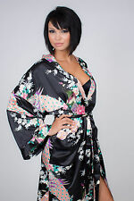 Hot New Sexy Must Have Japanese Asian Elegant Loose Style Kimono Robes 5 Colors