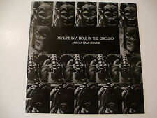 """LP Record: AFRICAN HEAD CHARGE """"My Life in a Hole.."""" Adrian Sherwood AUTOGRAPHED"""