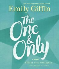 VERY GOOD!!  The One and Only by Emily Giffin (2014, Audio, Other, Unabridged)