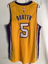 Adidas Swingman 2015-16 NBA Jersey Lakers Carlos Boozer Gold sz L