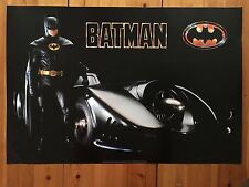 BATMAN 2, MICHAEL KEATON, RARE AUTHENTIC 1989 POSTER