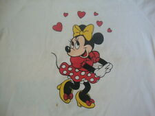 Vintage Walt Disney World Minnie Mouse in love with Mickey T Shirt XL