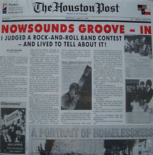 The Houston Post: Nowsounds Groove - In LP Way Back Moving Sidewalks A 440