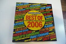 LES INROCKUPTIBLES PRESENTENT BEST OF 2006 COFFRET 3 CD. UFFIE DAHO RAPTURE....