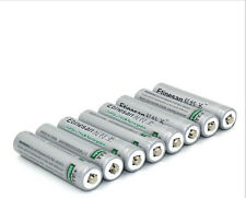8PCS Etinesan 200mah lithium  aaa rechargeable batteries