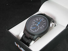 Kenneth Cole Unlisted Mens Stainless Steel Watch UL 0411 Special Edition