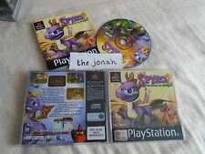 Spyro 2 Gateway to Glimmer PS1 (COMPLETE) black label Sony Playstation Dragon