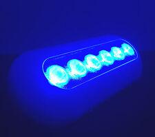 SUPER BRIGHT POLYMER MARINE OCEAN BLUE UNDERWATER LIGHT UNIT BOAT 6 LED 14W