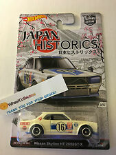Nissan Skyline HT 2000GT-X ROLL Cage Japan Historics Hot Wheels Car Culture Z41