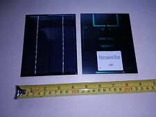 12V x 160 ma. Mini Solar Panel epoxy encapsulated virtually indestructible 2W ea