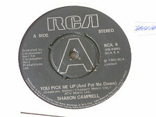 "Sharon Campbell:  You Pick Me Up  PROMO  7""  UNPLAYED EX SHOP"