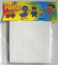 HAMA MIDI  BEADS - LARGE SQUARE & ROUND SPARE PEGBOARDS - NEW IN SEALED BAG!