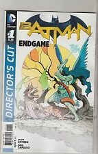 DC COMICS BATMAN ENDGAME #1 JANUARY 2016 DIRECTORS CUT 1ST PRINT NM