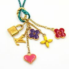 LOUIS VUITTON Sweet Monogram Charm Necklace with Pouch