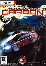 JEU PC DVD ROM../...NEED FOR SPEED....CARBON......