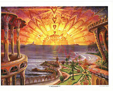 Visionary Art The Dawn of the Aquarian Age Litho by Joseph Parker