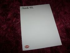 Catalogue / Brochure AUDI 90 1988 / 1989 //