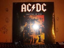 AC/DC Capital Of Sin Live 1979 Factory Sealed!! Record 2LPs Album Vinyl  (493)