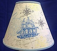 Tall Ships South America Navigation Handmade Lampshade Beach Nautical Lamp Shade