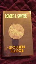 Golden Fleece by Robert J. Sawyer 1998 HCDJ Signed and Numbered #51/200