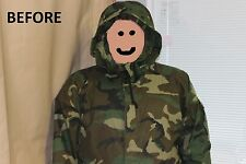USGI Military ECWCS cold Weather GORTEX PARKA HOOD RUFF w/ Faux Fur X Large NEW