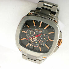 Breil Milano Men's Rose TW1317 Chronograph Analog Stainless Steel Link Watch