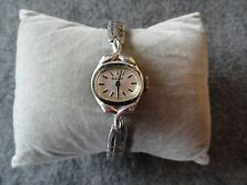 Bulova Wind Up Vintage Ladies Watch with a Stretch Band