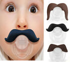 Funny Mustache Baby Boy Girl Infant Pacifier Orthodontic Dummy Beard Nipples TOP